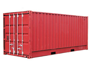 We love shipping containers to Barbados!